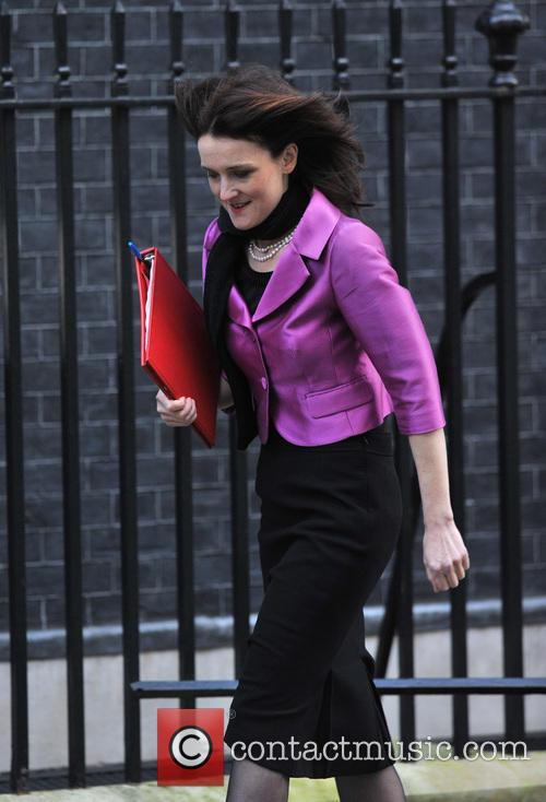 Theresa Villiers Members of Parliament arrive at 10...