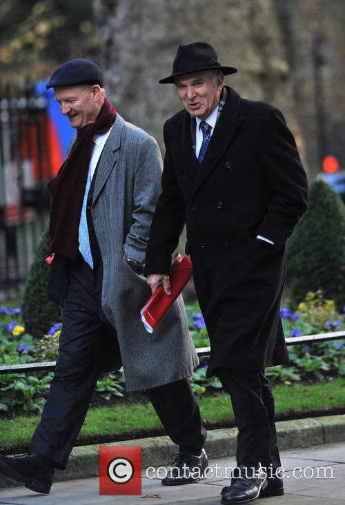 Vince Cable Members of Parliament arrive at 10...