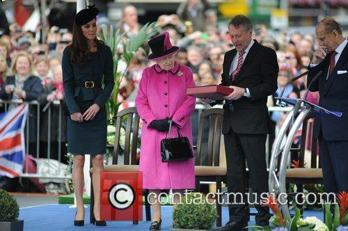 Queen Elizabeth Ii, Duchess, Kate Middleton and Prince Philip 2
