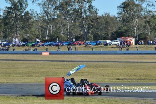 V8 Supercars 2012 held at Queensland Raceway