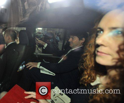 Rebekah Brooks  arrives at the Royal Courts...