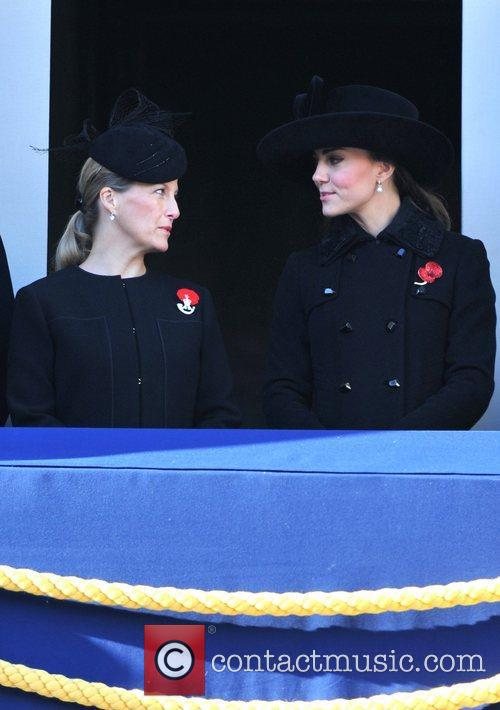 Sophie, Countess, Wessex, Catherine, Duchess, Cambridge and Kate Middleton 4