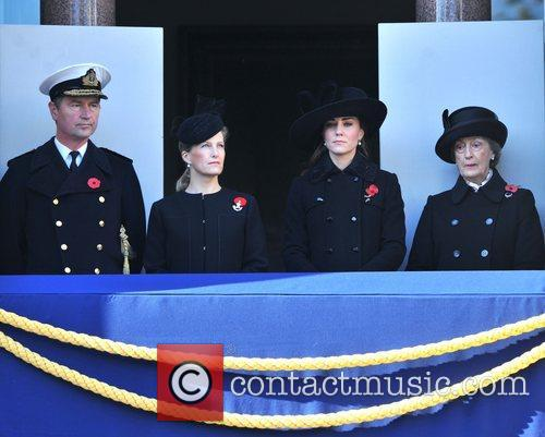 Sophie, Countess, Wessex, Catherine, Duchess, Cambridge and Kate Middleton 3