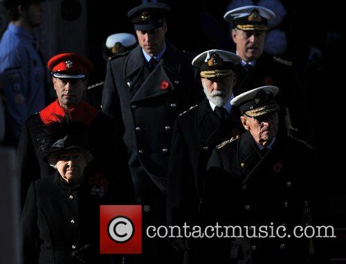 Queen Elizabeth, Prince Philip, Duke, Edinburgh, Prince William, Cambridge and The Duke Of York 3