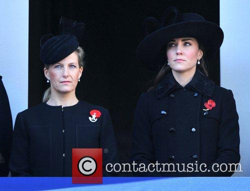 Sophie, Countess, Wessex, Catherine, Duchess, Cambridge and Kate Middleton 8