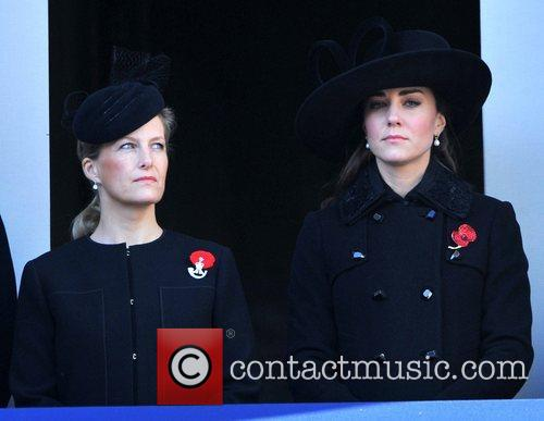 Sophie, Countess, Wessex, Catherine, Duchess, Cambridge and Kate Middleton 1