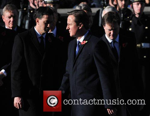 Ed Miliband, David Cameron and Nick Clegg 3