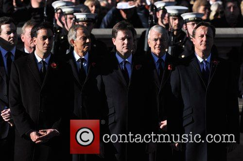 Ed Miliband, Tony Blair, Nick Clegg, John Major and David Cameron 6