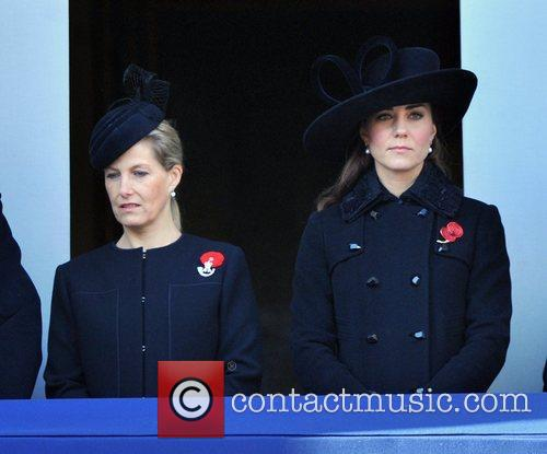 Sophie, The Countess, Wessex, Catherine, Duchess, Cambridge and Kate Middleton 10