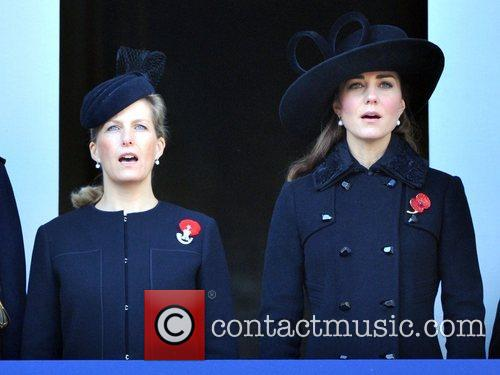 Sophie, The Countess, Wessex, Catherine, Duchess, Cambridge and Kate Middleton 11