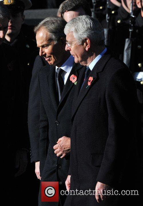 Tony Blair and John Major 1