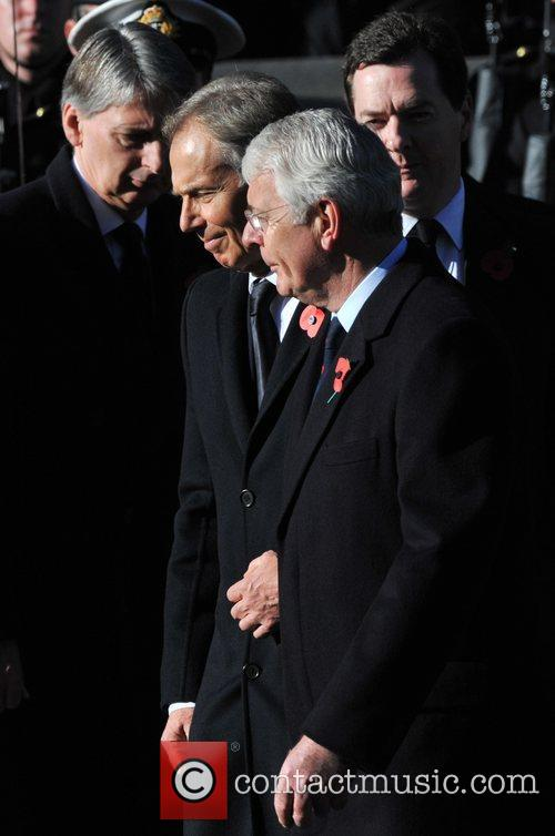 Tony Blair and John Major 2