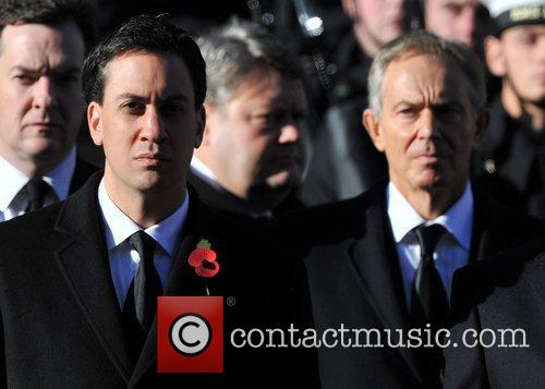 Ed Miliband and Tony Blair 9