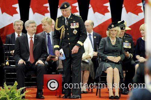 Stephen Harper and Prince Charles 7
