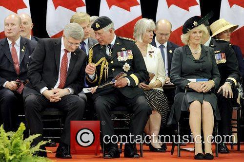 Stephen Harper and Prince Charles 11