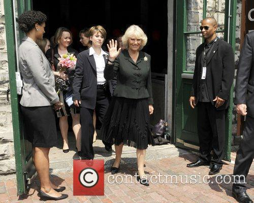 Camilla, Duchess of Cornwall  leaving the Government...