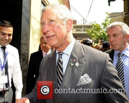 Prince Charles, Prince of Wales  arriving at...