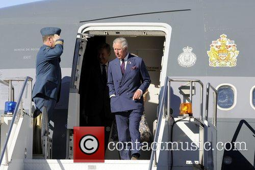 Prince Charles, The Prince of Wales and Camilla,...
