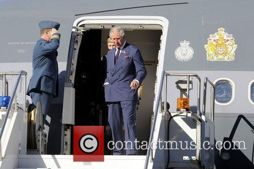 Prince Charles, The Prince of Wales arrive at...