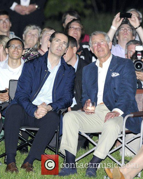 Dalton McGuinty, Premier of Ontario, and Prince Charles,...