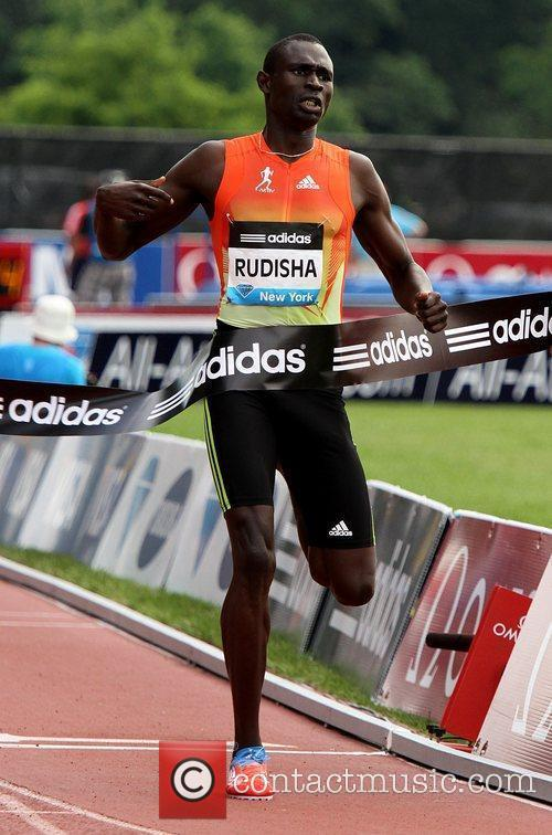 David Rudisha The 2012 Samsung Diamond League at...