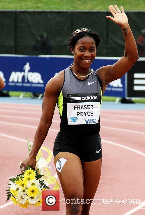Shelly Ann Fraser-Pryce The 2012 Samsung Diamond League...