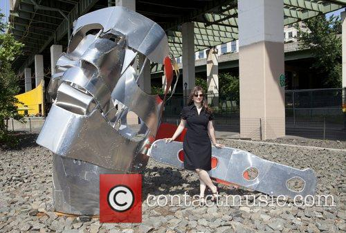 Renata Pugh Seven Monumental Sculptures are unveiled by...