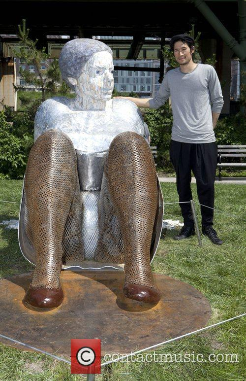 Squoyah Aono Seven Monumental Sculptures are unveiled by...