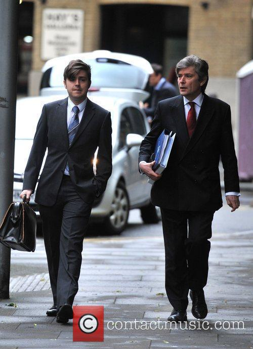 Members of the prosecution arrive at Southwark Crown...