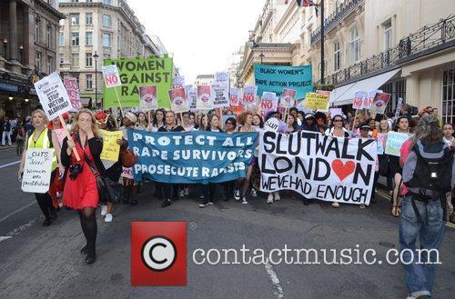 SlutWalk London 2012