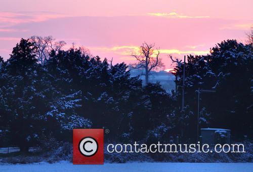Atmosphere; Sunset near Old Warden Villages around Bedfordshire...