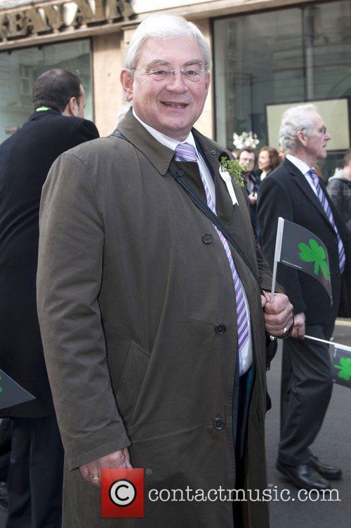 Richard Barnes St Patrick's Day Festival in Trafalgar...