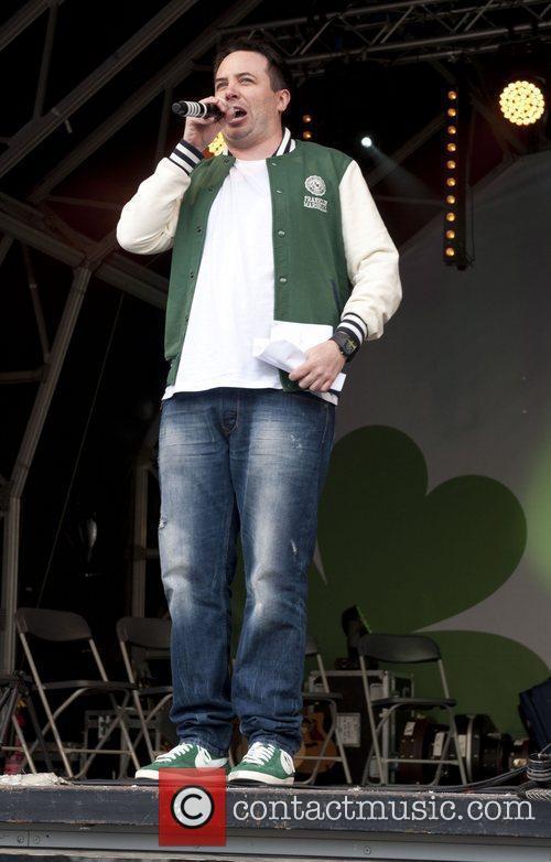 Rob Broderick St Patrick's Day Festival in Trafalgar...