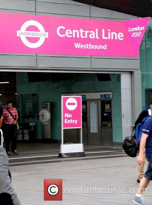The Central line is suspended at Stratford train...
