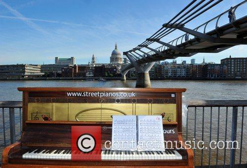 Artist Luke Jerram has placed 30 pianos in...