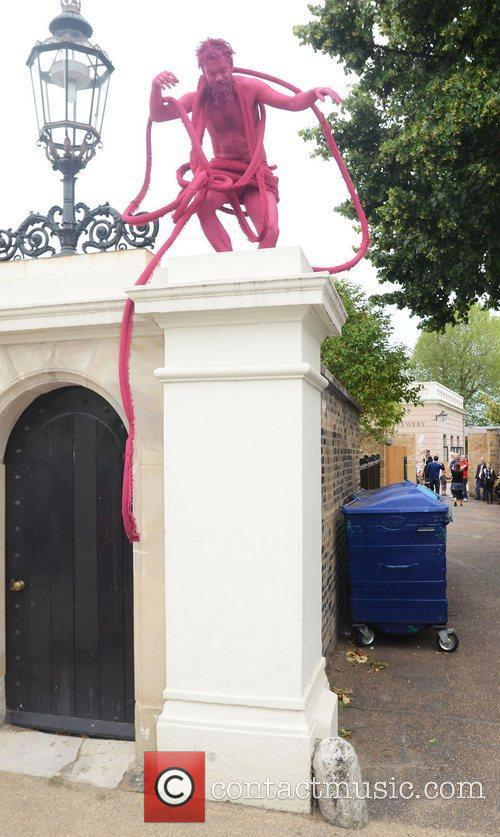 A pink invasion is spreading through Greenwich and...