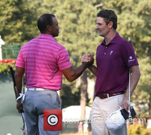 Justin Rose and Tiger Woods 2