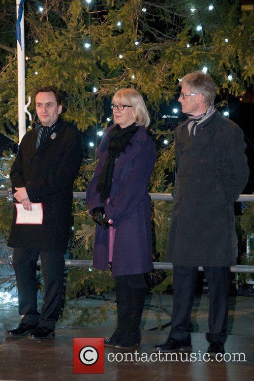 Governing Mayor of Oslo Stian Berger Rosland, Astrid...