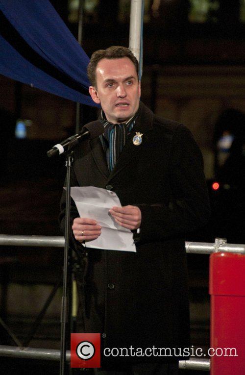 Governing Mayor of Oslo Stian Berger Rosland Trafalgar...