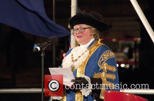 Lord Mayor of Westminster Angela Harvey Trafalgar Square...