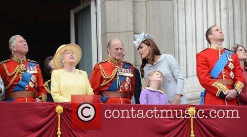 Prince Charles, Prince of Wales, Queen Elizabeth II,...