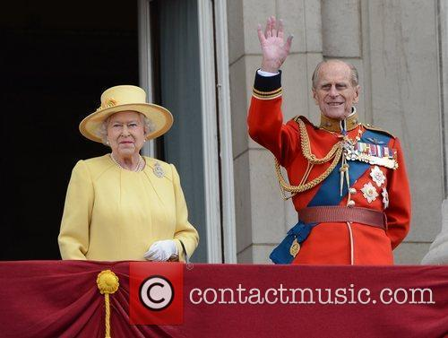 Queen Elizabeth II and Prince Philip 1