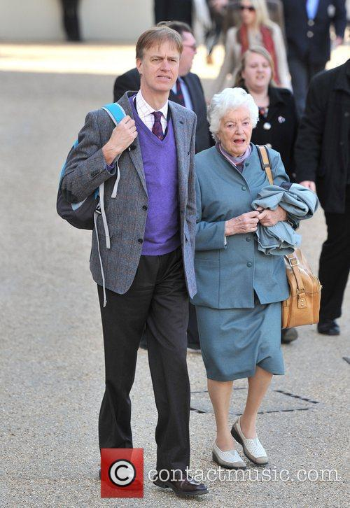 Stephen Timms and guest attend the 2012 Trooping...