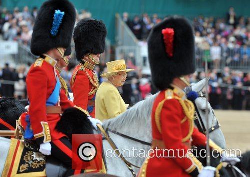 Queen Elizabeth II, Prince Charles, Prince Philip, Prince William