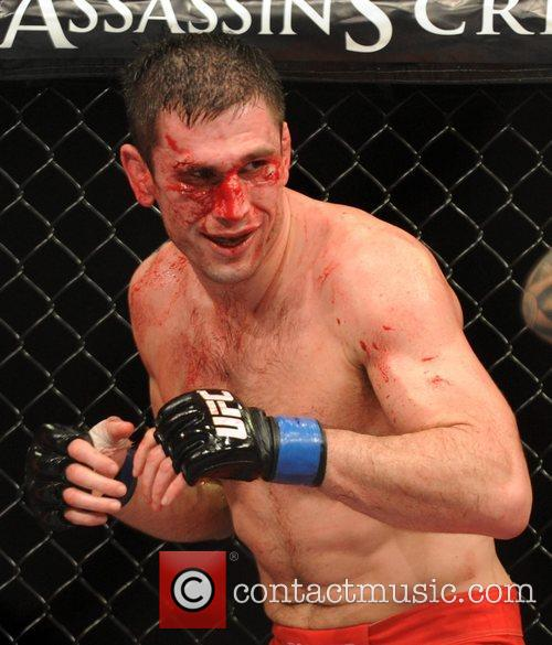 Amir Sadollah who lost to Dan Hardy with...