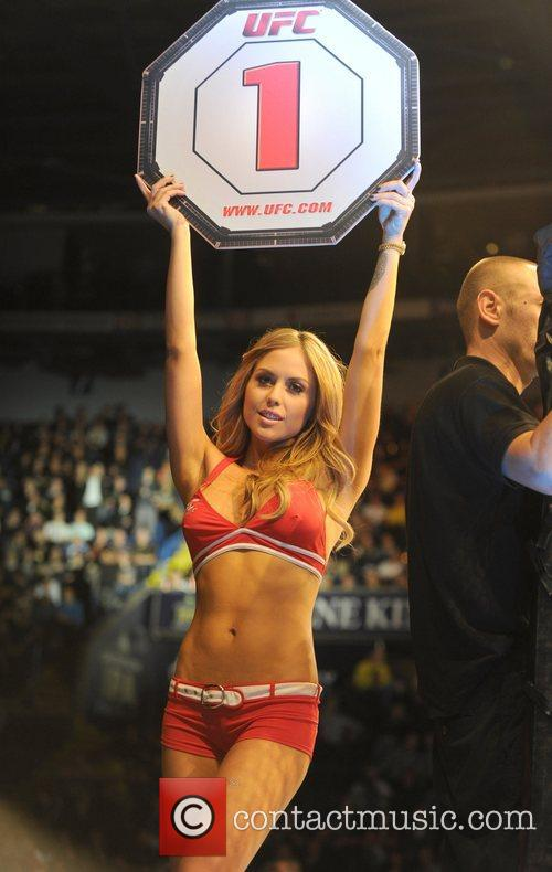 Ring Girl Brittney Palmer The Ultimate Fighting Championships...