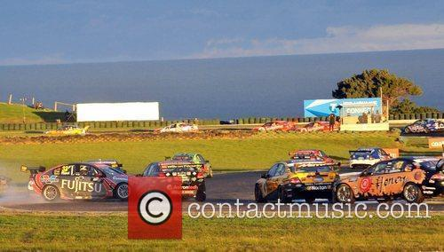 Atmosphere The V8 SuperCar Championship Series on Phillip...