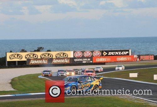 Will Davison loses control of his car The...