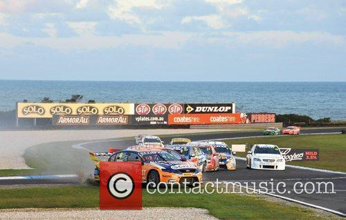 The V8 SuperCar Championship Series on Phillip Island