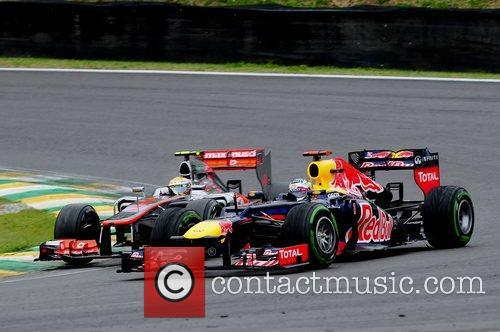 World Champion, D, Sebastian Vettel, Germany, Red Bull Racing Renault, Team, Lewis Hamilton and Brazilian Grand Prix 2